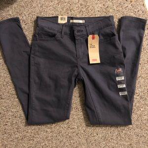 NWT Levi's 710 Super Skinny Mid Rise Jeans